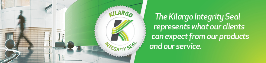 Kilargo integrity seal logo