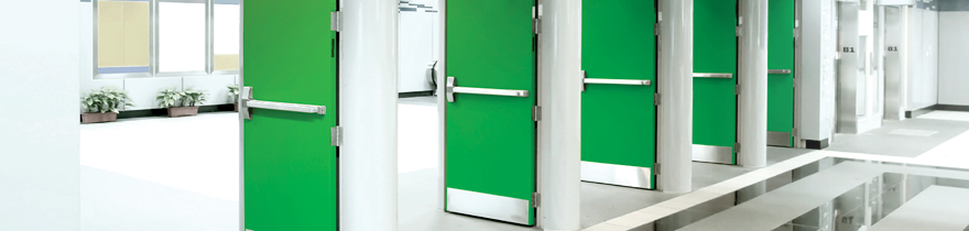 Green door open & Door Manufacturers | Kilargo