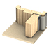 Kilargo IS9055 wooden door finger guard seals