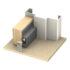 Kilargo IS8090si Heavy Duty Face Fixed Automatic Door Bottom Seal